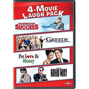4-Movie Laugh Pack: Secret of My Success / Greedy [DVD] USA import