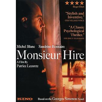 Monsieur Hire [DVD] USA import