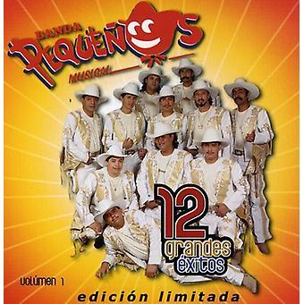 Banda Pequenos Musical - Banda Pequenos Musical: Vol. 1-12 Grandes Exitos [CD] USA import