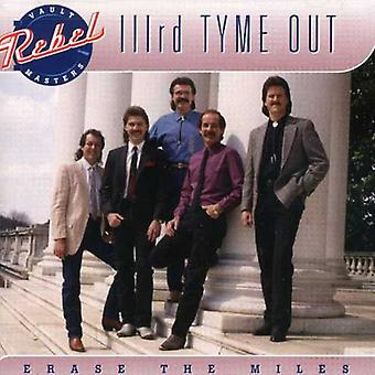Third Tyme Out - Erase the Miles [CD] USA import