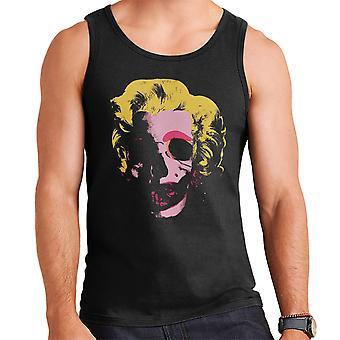 Marilyn Monroe Pop Art Skull Men's Vest