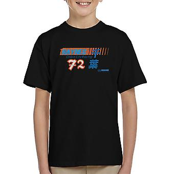 Haynes Brand Chiba City Racing 72 Distressed Kid's T-Shirt