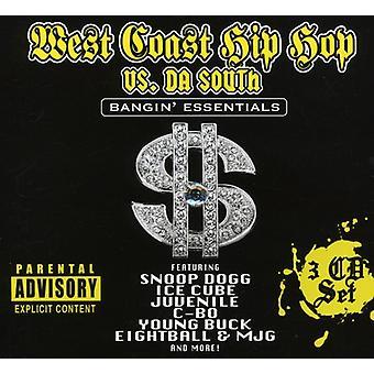 West Coast Hip Hop vs. Da Zuid - West Coast Hip Hop vs. Da Zuid [CD] USA import