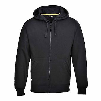 Portwest - Nickel Classic Workwear Zip Front Sweatshirt With Hood