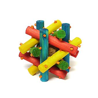 Interpet Limited Superpet Nut Knot Knibbler Wooden Toy