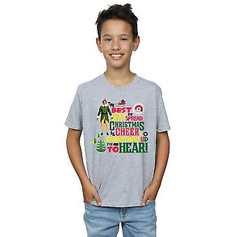 Elf Boys Christmas Cheer T-Shirt
