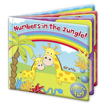 First Steps Bath Book Numbers in the Jungle! Bathtime Fun 6m+