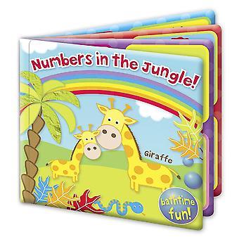 Πρώτα βήματα βιβλίο μπάνιο νούμερα στη ζούγκλα! Διασκέδαση μπάνιο 6m +