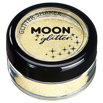 Shakers Glitter pastello di luna Glitter – 100% Glitter cosmetici per viso, corpo, unghie, capelli e labbra - 3G - limone