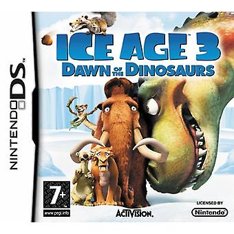Ice Age 3 Dawn af dinosaurerne (Nintendo DS)-fabriks forseglet