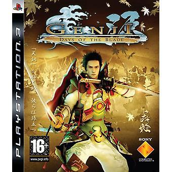 Genji dagar av bladet (PS3)-ny