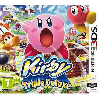 Kirby Triple Deluxe (Nintendo 3DS) - New