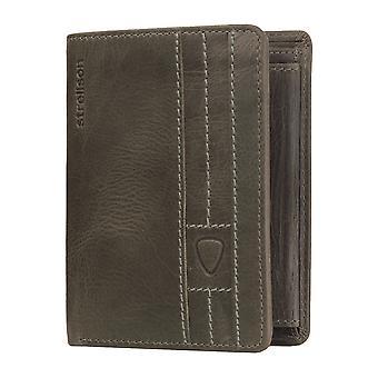 Strellson heren portemonnee wallet portemonnee donkergrijs 3641
