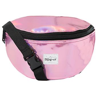 Spirale Rosa Rave Bum Bag in Rosa