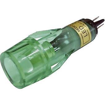 Sedeco LED indicator light Green 12 V DC BD -1019