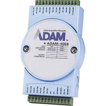 Advantech ADAM-4068 Çıkış modülü DI/O, Röleler No. çıkışları: 8 x 12 V DC, 24 V DC