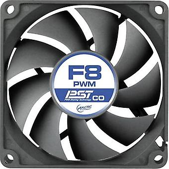 Arctic F8 PWM PST CO PC fan Black (W x H x D) 80 x 80 x 25 mm