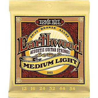 Ernie Ball Steel string (Akustikgitarre) EB2003 Medium Light 012-054