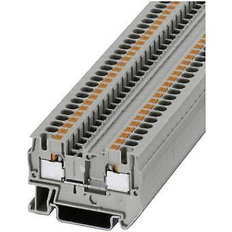 Phoenix Contact PT 4 3211757 kontinuitet antal stift: 2 0,2 mm² 4 mm² grå 1 dator