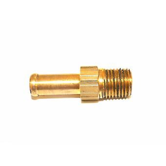 "Big A Service Line 3-82140 Brass Hose Fitting, 1/4"" x 5/16"" Male Pipe"