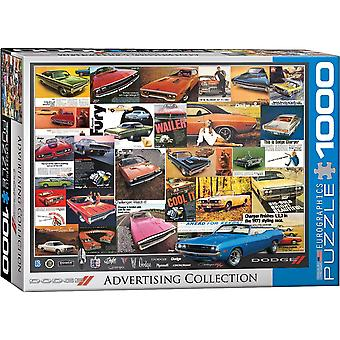 Dodge Vintage Advertising 1000 Piece Jigsaw Puzzle 680Mm X490Mm