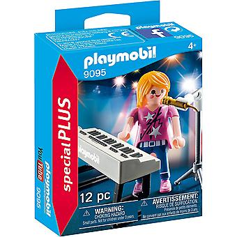9095 Playmobil Special Plus zangeres met toetsenbord Toy Set