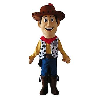 mascot SPOTSOUND of Woody, famous character in Toy Story
