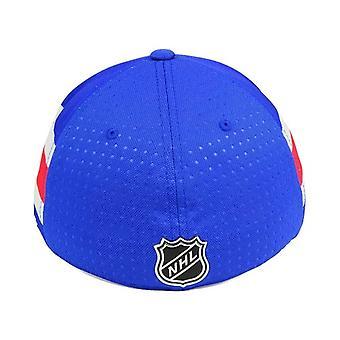 New York Rangers NHL Adidas Taslak Stretch Donatılmış Şapka