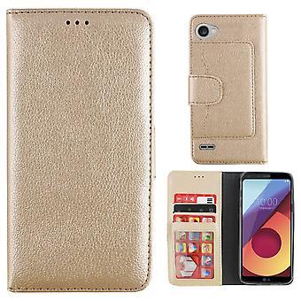 Colorfone lommebok LG Q6 lommebok saken gull
