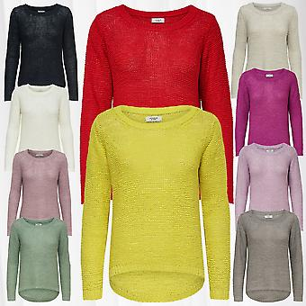 JDY Women's Pullover Knitted Sweater JDYMORE Knit Noos Longsleeve Shirt Only