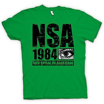 子供 t シャツ - NSA 1984 アメリカ人のスパイ - 警察国家