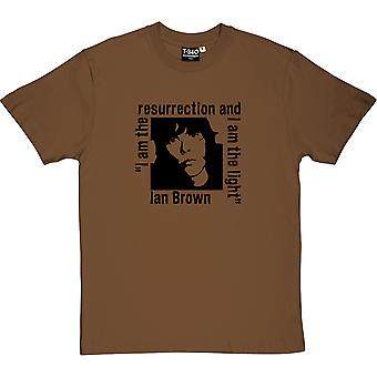 Ian Brown: I Am The Resurrection Chestnut Men's T-Shirt