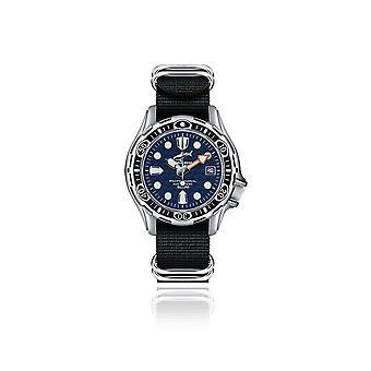 CHRIS BENZ - Diver Watch - DEEP 500M AUTOMATIC - CB-500A-B-NBS