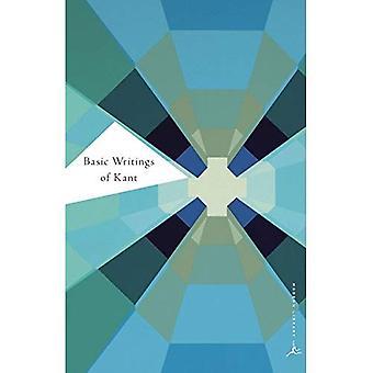 Basic Writings of Kant (Modern Library)