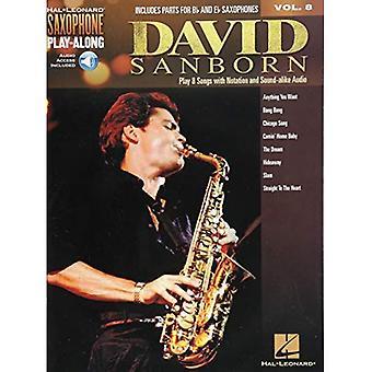 David Sanborn: Saksofoni Play-Along Volume 8 (Hal Leonard saksofoni Play-Along)