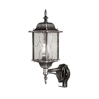 Wexford opp veggen lanterne med Pir - Elstead belysning