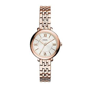 Fossil Analog Women with metal plated stainless steel ES3799