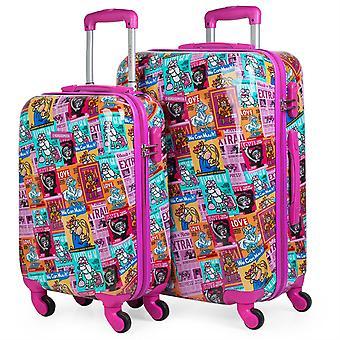 Viagem tamanho bagagem cabine e policarbonato 60cm 130700