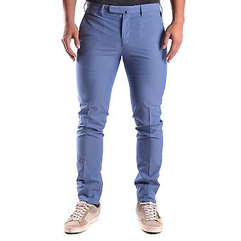 Incotex Ezbc093009 Men's Light Blue Cotton Pants