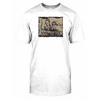 Joignez ou mourez Serpent - Benjamin Franklin Mens T Shirt