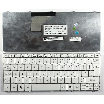 Gateway V111102BK4 witte UK lay-out vervanging Laptop toetsenbord