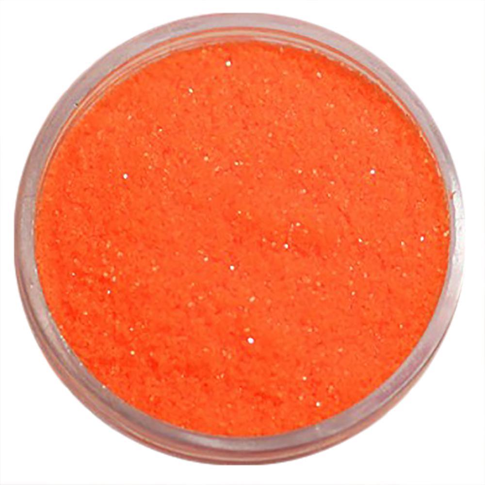 1pcs finkornet glitter Neon oransje