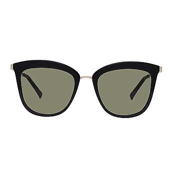 Le Specs Caliente Black Cat Eye Sunglasses