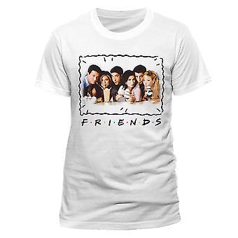 Amigos de los hombres Milkshake camiseta blanca cuello redondo