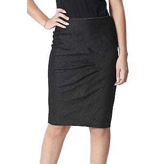 Ermanno Scervino Ezbc108008 Women's Black Wool Skirt