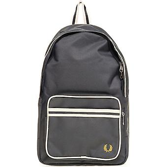 Fred Perry Twin Tipped Backpack Rucksack Bag - L2201-614 - Mid Grey