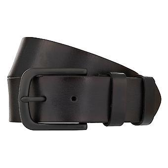 MONTI DALLAS Belt Men's Belt Leather Belt Black 8029