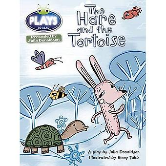 Julia Donaldson Plays the Hare and the Tortoise (orange) (BUG CLUB)