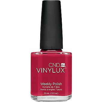 CND vinylux Weekly Nail Polish - Rouge Red (143) 15ml