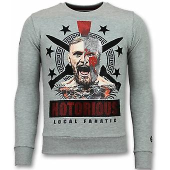 Notorious Trui - Mcgregor Warrior  Sweater - Grijs